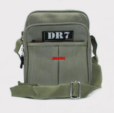 Shoulder Bag DR7 Street Verde Musgo