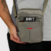 Shoulder Bag DR7 Street Verde Musgo