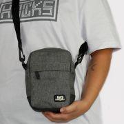 Shoulder Bag Federal Art Lona Cinza