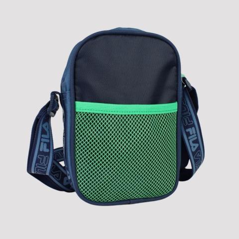 Shoulder Bag Fila Webbing - Marinho/ Menta