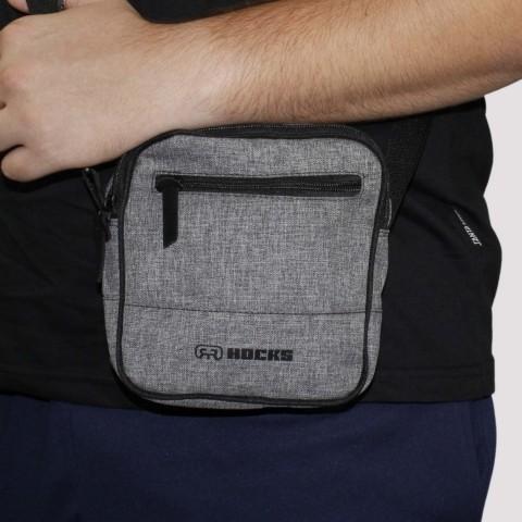 Shoulder Bag Hocks Turista - Cinza