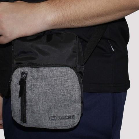 Shoulder Bag Hocks Viaggio - Preta/Cinza
