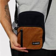 Shoulder Bag Hocks Viagio2 Azul Marinho/Marrom