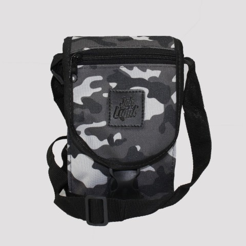 Shoulder Bag Jah Light Camu - Preto/ Cinza