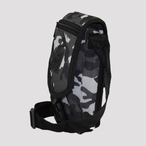 Shoulder Bag Jah Light Camu - Preto/ Cinza