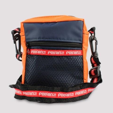 Shoulder Bag Pixa In - Laranja/Azul Escuro