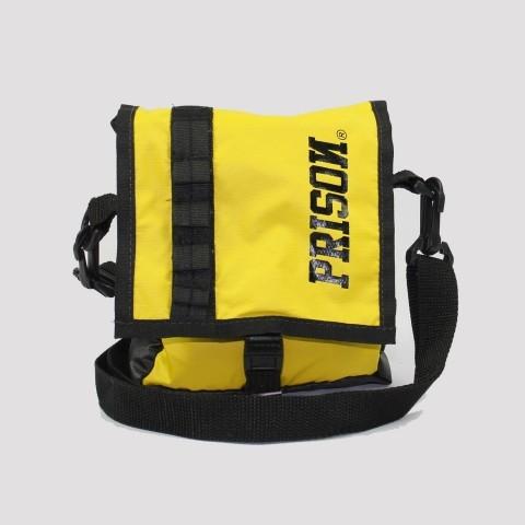 Shoulder Bag Prison - Preto/ Amarelo