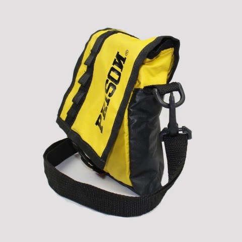Shoulder Bag Prison - Preto/ Amarelo