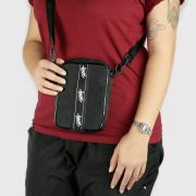 Shoulder Bag Save Vertical Preta/Branca