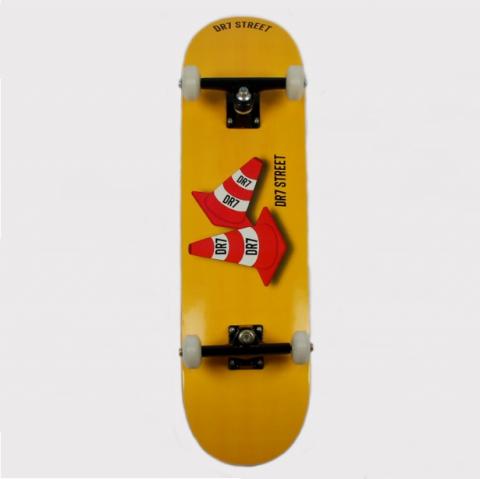 Skate Montado DR7 Cone Amarelo