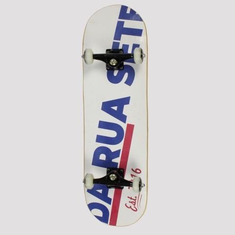 Skate Montado DR7 Since Branco
