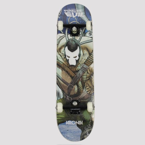 Skate Montado Kronik Dc Comics Spawn - Azul/Marrom/Verde