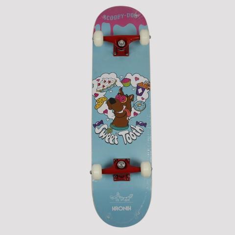 Skate Montado Kronik Scooby-Doo - Azul/Vermelho