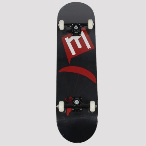 Skate Montado Make 8.5 - Vermelho/Preto