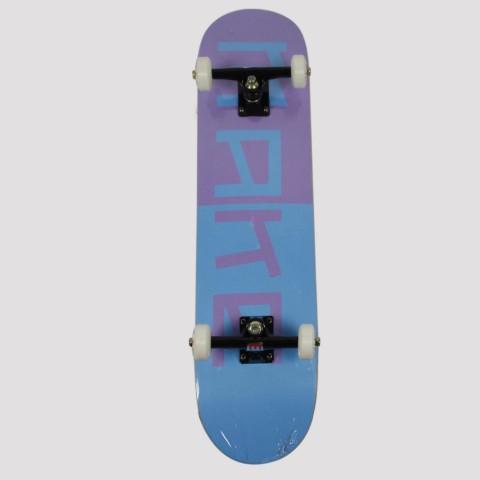 Skate Montado Make - Azul/Roxo