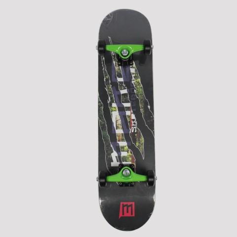 Skate Montado Make Monster - Preto