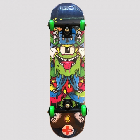 Skate Montado +Skate Monster Colors