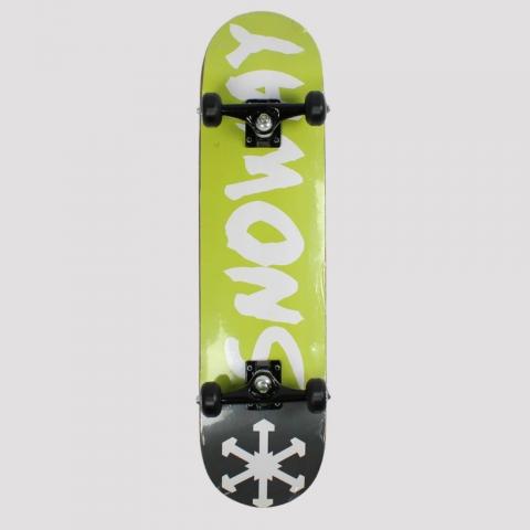 Skate Montado Snoway Black/ Green