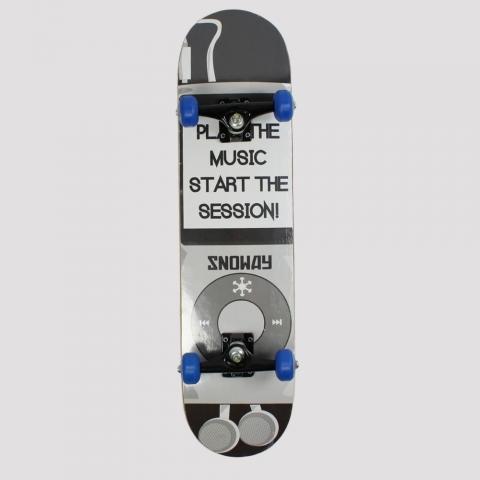 Skate Montado Snoway Black/ Grey