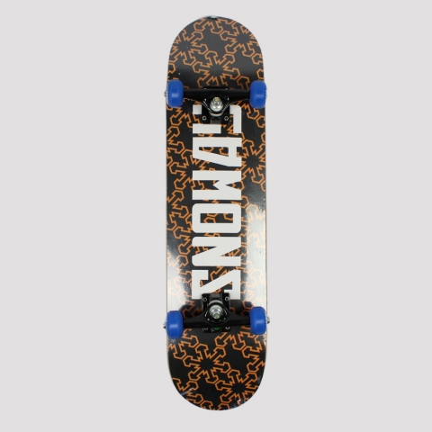 Skate Montado Snoway Black/ Orange