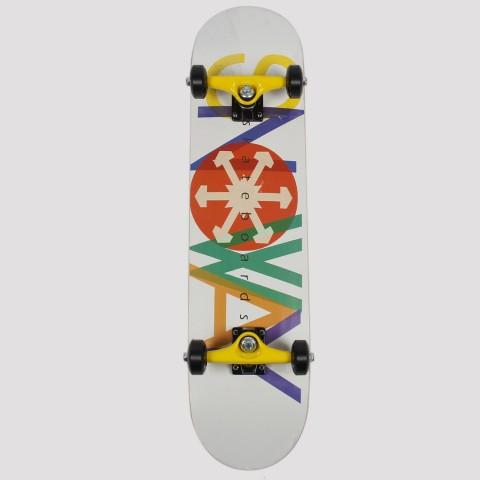 Skate Montado Snoway Colors - Amarelo/Verde/Azul