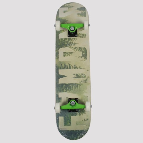 Skate Montado Snoway Floresta - Verde Claro