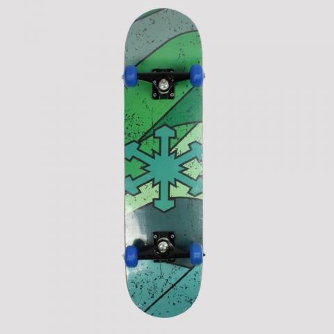Skate Montado Snoway Logo Green Vibes
