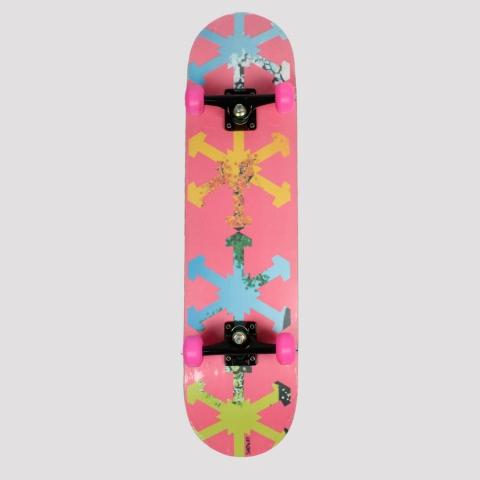 Skate Montado Snoway Logo Multicolor
