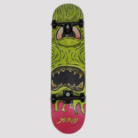Skate Montado Snoway Monstro - Verde