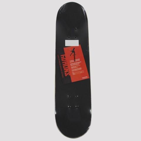 Skate Montado Snoway Monstro - Vermelho/Azul