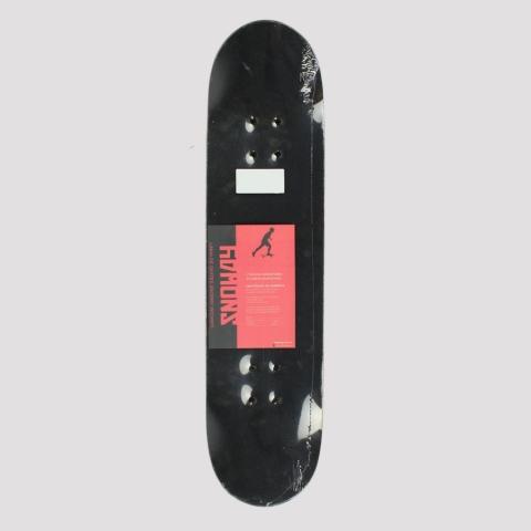 Skate Montado Snoway Red Black