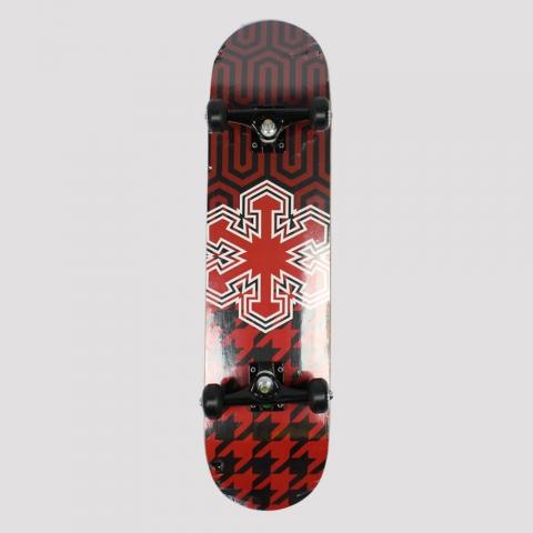 Skate Montado Snoway Red/ Black