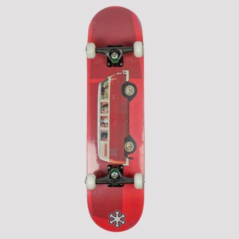 Skate Montado Snoway Red Kombi