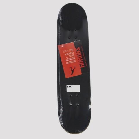Skate Montado Snoway - Vermelho
