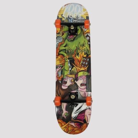 Skate Montado WoodLight Dino Caos