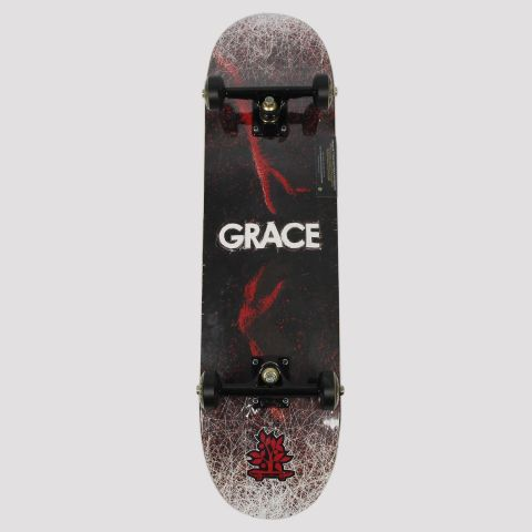 Skate Montado WoodLight Grace - Preto