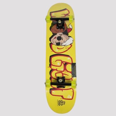 Skate Montado WoodLight Grafite