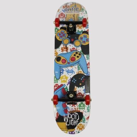 Skate Montado WoodLight Joystick
