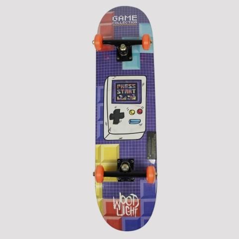 Skate Montado WoodLight Mini Game