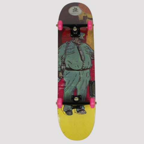Skate Montado WoodLight The Police