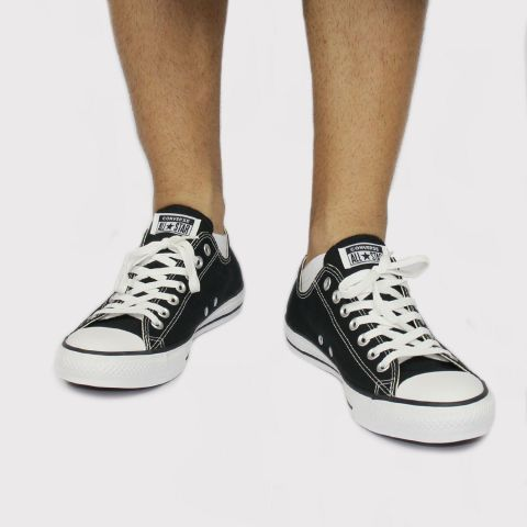 Tênis Converse All Star Chuck Taylor - Core Ox Preto/Branco
