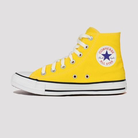 Tênis Converse All Star Chuck Taylor Hi - Amarelo