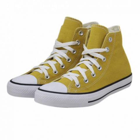 Tênis Converse All Star Chuck Taylor Hi - Amarelo Minério