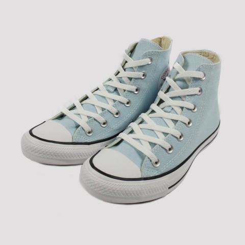 Tênis Converse All Star Chuck Taylor Hi - Azul Bebe/Preto
