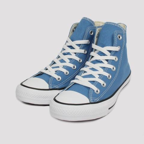 Tênis Converse All Star Chuck Taylor Hi - Azul/Preto/Branco