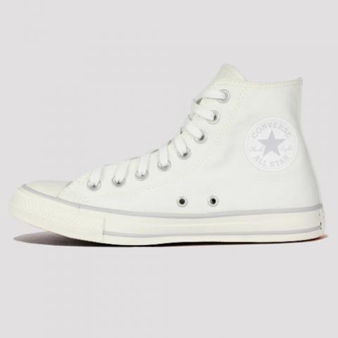 Tênis Converse All Star Chuck Taylor Hi - Branco/Amêndoa