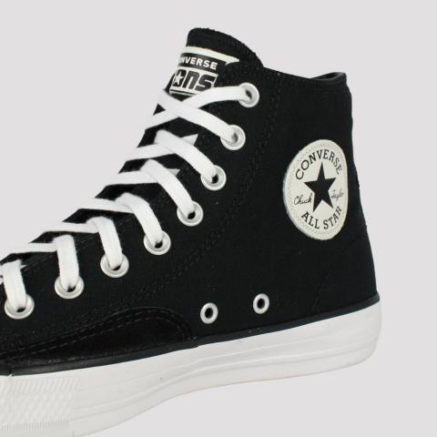 Tênis Converse All Star Chuck Taylor Hi Pro - Preto/ Branco