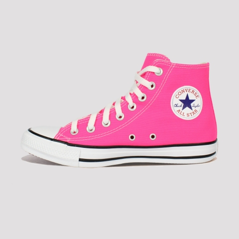 Tênis Converse All Star Chuck Taylor Hi - Rosa Choque