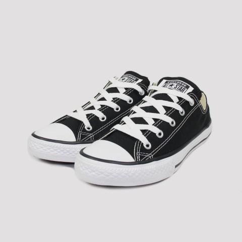 Tênis Converse All Star Chuck Taylor Kids  - Preto/Cru/Preto