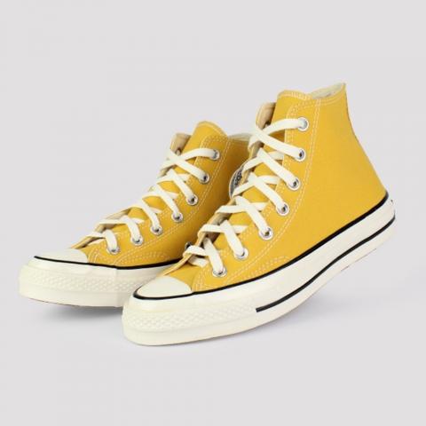 Tênis Converse Chuck 70 Hi - Amarelo Ouro